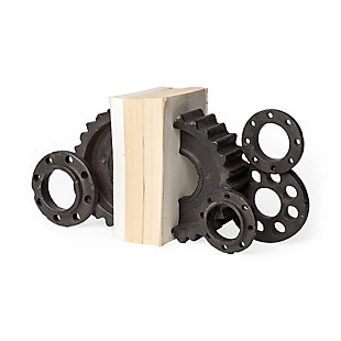 Mercana  Industrial Gear Bookend, , large
