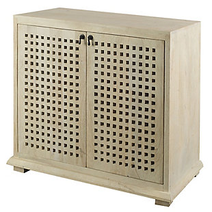 Lawson 39L X 16W X 34.3H Light Brown Wood Two Door Accent Cabinet, , large