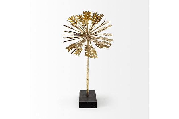 """Mercana  (17.7""""H) Gold Metal Decorative Sculputure, , large"""