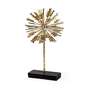 "Mercana  (17.7""H) Gold Metal Decorative Sculputure, , large"