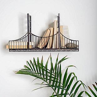 Mercana Golden Gate Bridge Wall Shelf, , rollover