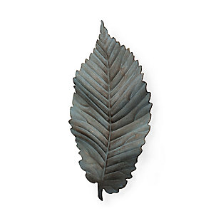 "Mercana  15.8""H Large Metal Leaf Wall Art, , large"