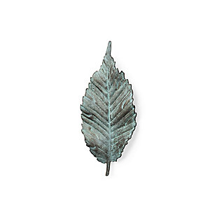 "Mercana  12""H Small Metal Leaf Wall Art, , large"