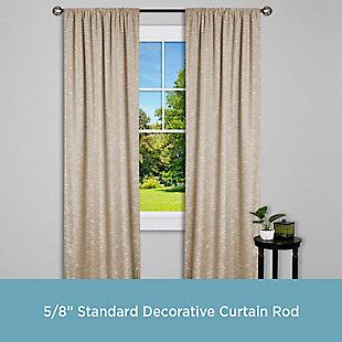 "Kenney Kenney® Cage 5/8"" Standard Decorative Window Curtain Rod, 28-48"", Bronze, Bronze, large"