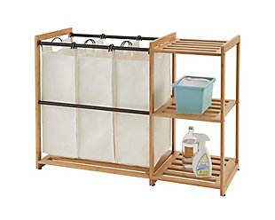 TRINITY Bamboo Laundry Station, , large