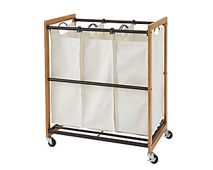 TRINITY 3-Bag Laundry Cart, , large