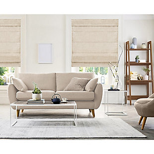 "Chicology Cordless Roman Shades, Belgian Flax, 36"" X 64"", Belgian Flax, rollover"