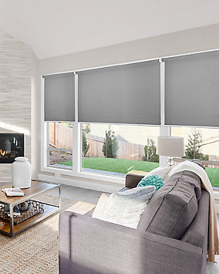 "Chicology Cordless Roller Shades, Urban Gray, 36"" X 72"", Urban Gray, rollover"