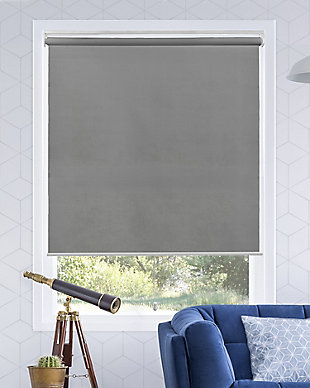 "Chicology Cordless Roller Shades, Urban Gray, 36"" X 72"", Urban Gray, large"
