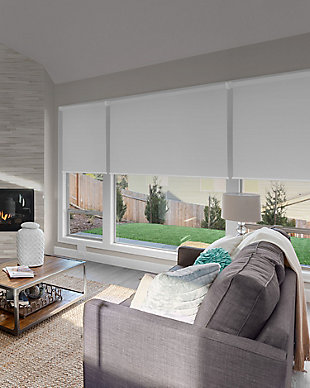 "Chicology Cordless Roller Shades, Byssus White, 36"" X 72"", Byssus White, rollover"