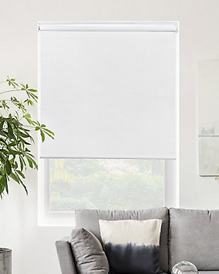 "Chicology Cordless Roller Shades, Byssus White, 36"" X 72"", Byssus White, large"