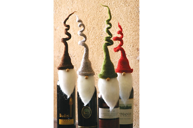 Home Accents Wine Topper (Set of 4), , large