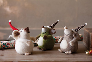 Home Accents Mouse Sculpture (Set of 3), , large