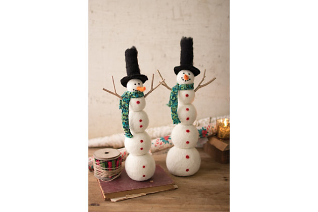 Home Accents Snowman (Set of 2)