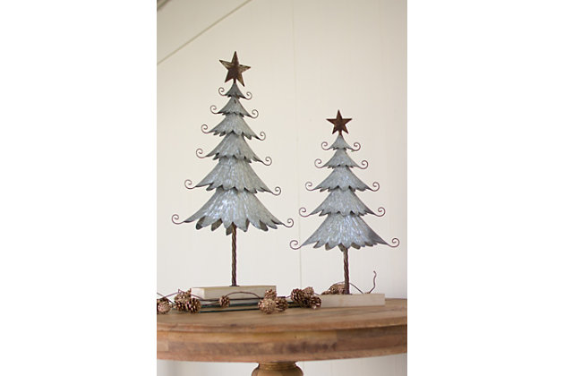 Home Accents Tree Statue (Set of 2), , large