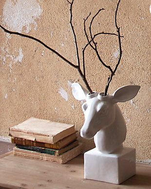 Home Accents Deer Head Sculpture, , large