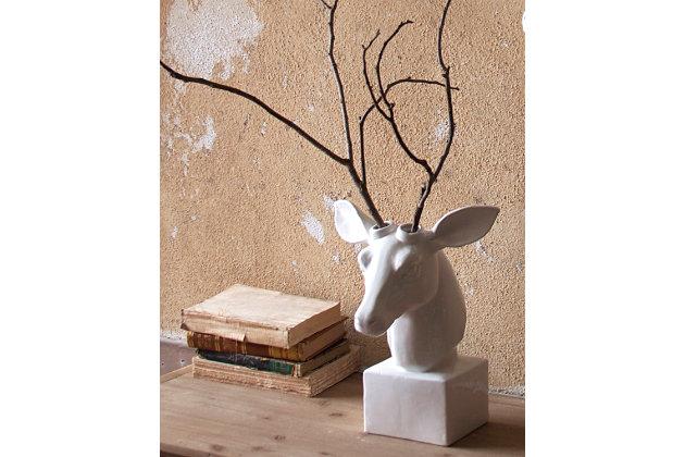 Home Accents Deer Head Sculpture, , large