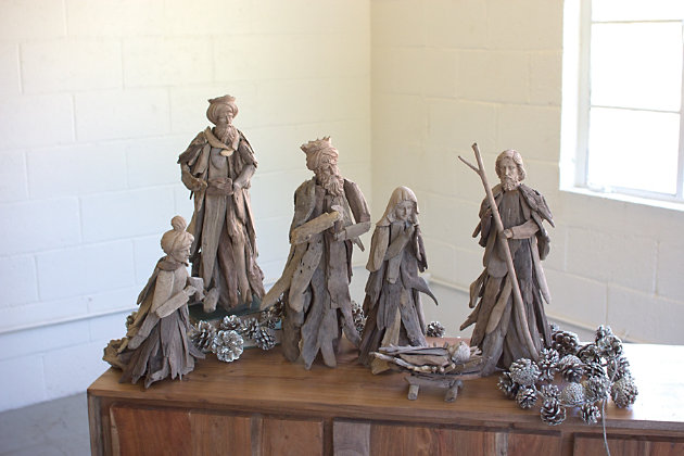 Home Accents Nativity Set (Set of 6), , large
