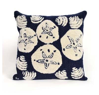 Image of Home Accents Indoor-Outdoor Pillow, Blue