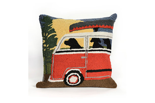 Red Home Accents Indoor/Outdoor Pillow by Ashley HomeStore