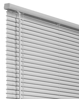 "Chicology Cordless 1-in Vinyl Mini Blinds, Gray, 36"" X 60"", Gray, large"