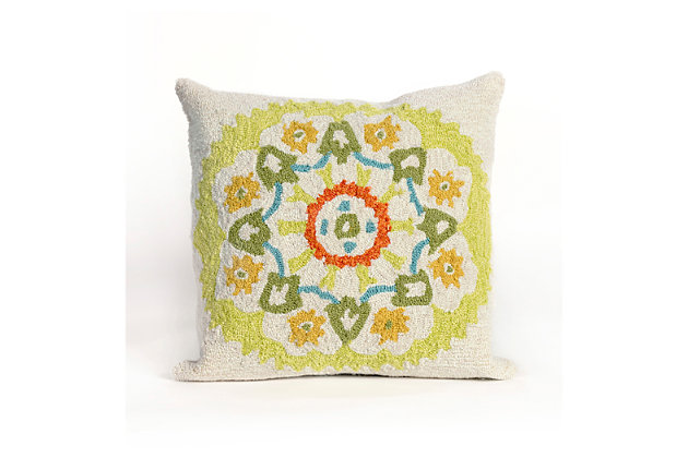Green Home Accents Indoor/Outdoor Pillow by Ashley HomeStore