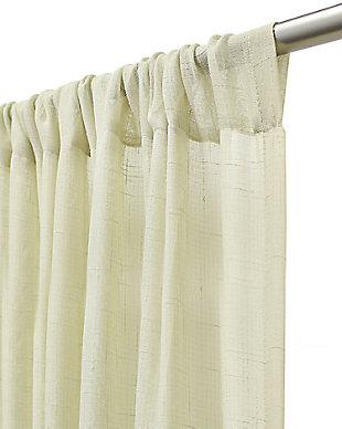 """Chicology Curtain Panels, Adorn Cream, 52"""" X 84"""", Adorn Cream, large"""