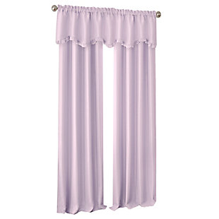 "Home accents Adaline Nursery and Kids Blackout Window Curtain Panel, Lavender, 52"" x 84"", Lavender, large"