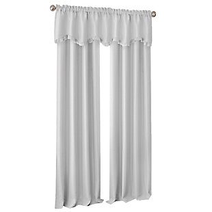 "Home accents Adaline Nursery and Kids Blackout Window Curtain Panel, Pearl Gray, 52"" x 63"", Pearl Gray, rollover"