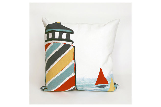 Multi-Color Home Accents Indoor/Outdoor Pillow by Ashley HomeStore