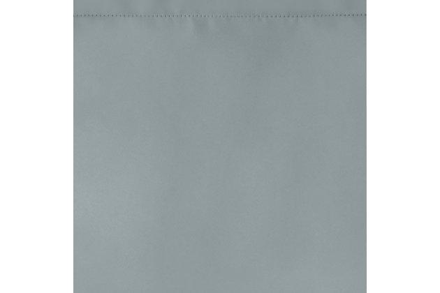 "Home Accents Vanderbilt Scallop Tassel Window Valance, River Blue, 50"" x 19"", River Blue, large"