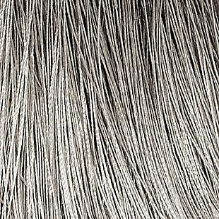 "Home Accents Amelia Decorative Tassel Window Curtain Tieback, Silver, 24"", Silver, large"