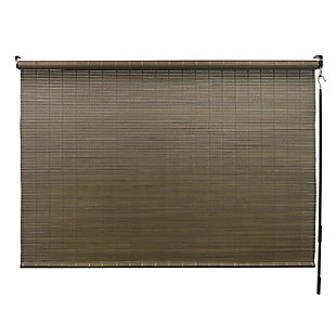 Radiance Radiance Driftwood Bamboo Shade with Crank 72 in. W x 72 in. L, , large
