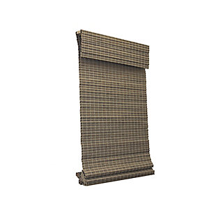 Radiance Radiance Cordless Bamboo Privacy Weave Shade - Driftwood, Driftwood, large