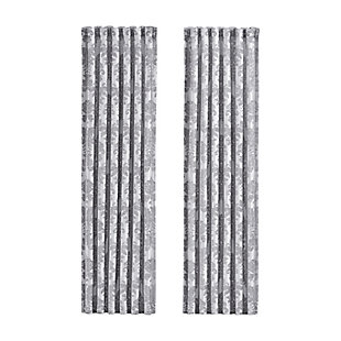 J. Queen New York Portofino Curtain, Kenney Rod & Chicology Roller Shade Bundle