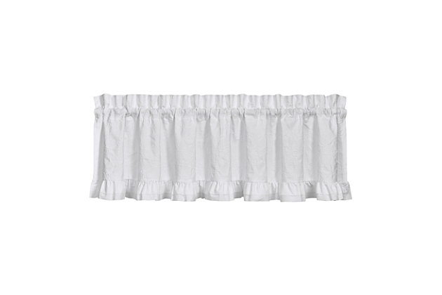 """Piper & Wright Piper & Wright Emily 88"""" x 15"""" Window Straight Valance, , large"""