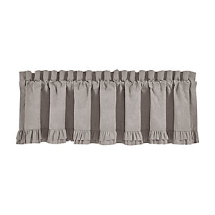 """Piper & Wright Piper & Wright Emily - Alloy 88"""" x 15"""" Window Straight Valance, , rollover"""