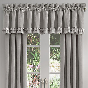 "Piper & Wright Piper & Wright Emily - Alloy 88"" x 15"" Window Straight Valance, , large"