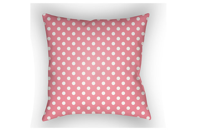 Home Accents Pillow by Ashley HomeStore, Pink