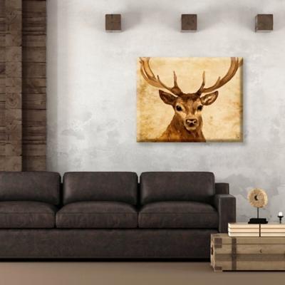 Cyrus Epsilon 24 x 36 Canvas Wall Art, Brown, large