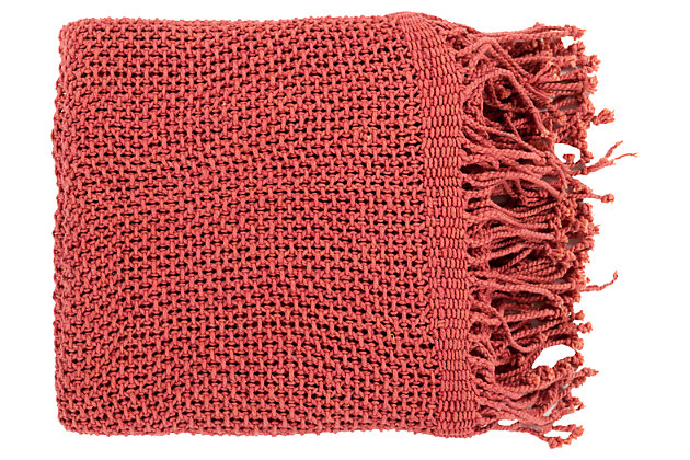 Red Home Accents Throw by Ashley HomeStore