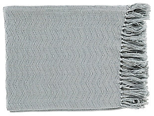 Home Accents Throw, Blue, large