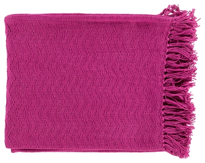 Home Accents Throw, Pink, large