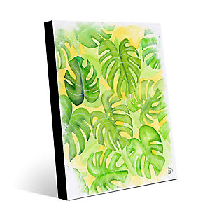 Tropical Feeling 11 x 14 Wood Plank Wall Art, , large