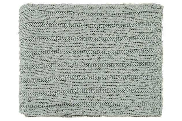 Home Accents Throw by Ashley HomeStore, Green
