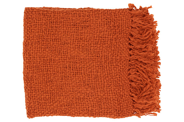 Home Accents Throw by Ashley HomeStore, Red
