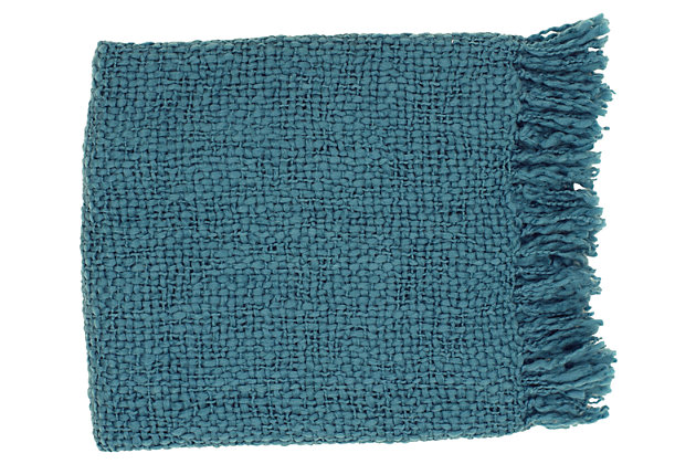 Blue Home Accents Throw by Ashley HomeStore
