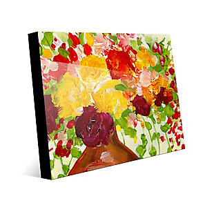 Color of Joy Zoom 24 x 36 Acrylic Wall Art, Red/Yellow/Green, large