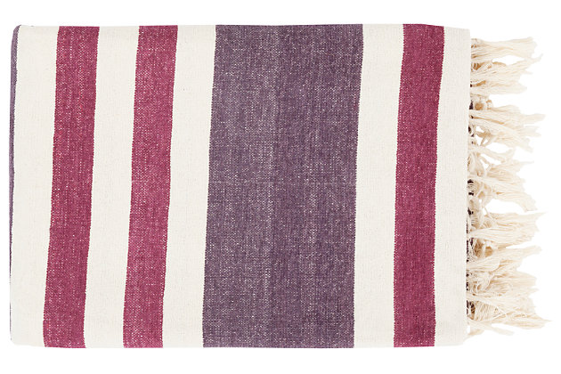 Purple Home Accents Throw by Ashley HomeStore