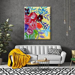 Edony Close 24 x 36 Canvas Wall Art, Multi, large